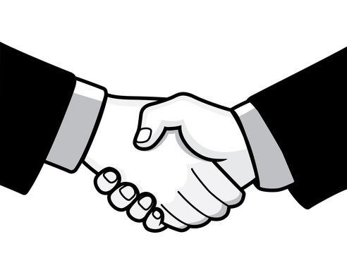 Black-white-handshake-clipart-clipart-kid