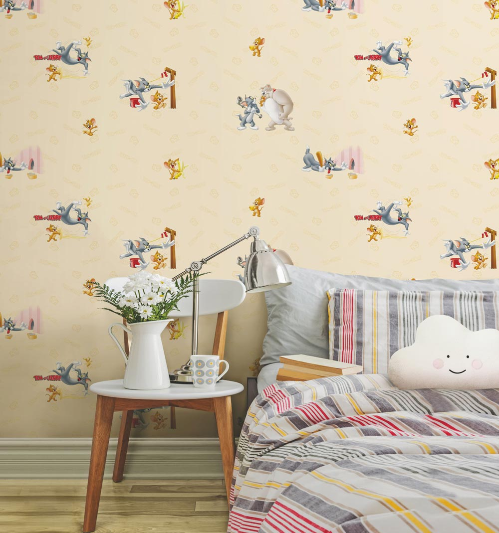 Tom And Jerry Cartoon Characters Wallpaper 8925 Evershine Walls