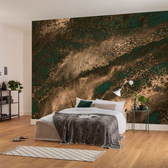 Metallic Wallmurals