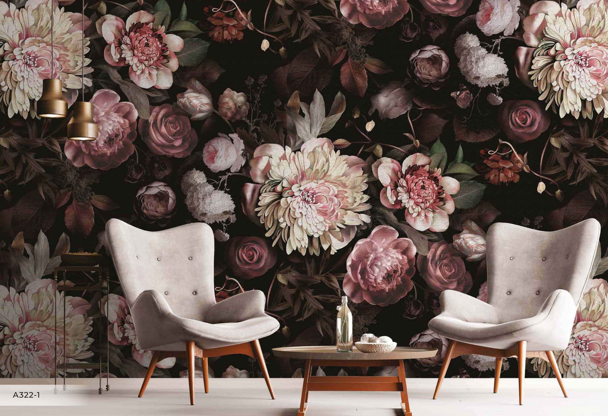 Perfect Floral Wallpaper to Upgrade the Look of Your